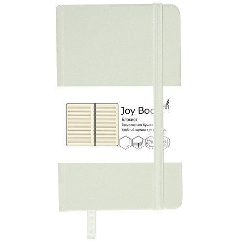 Блокнот Joy Book А5, 96 листов, в линейку, белый блокнот joy book а5 96 листов в линейку голубой