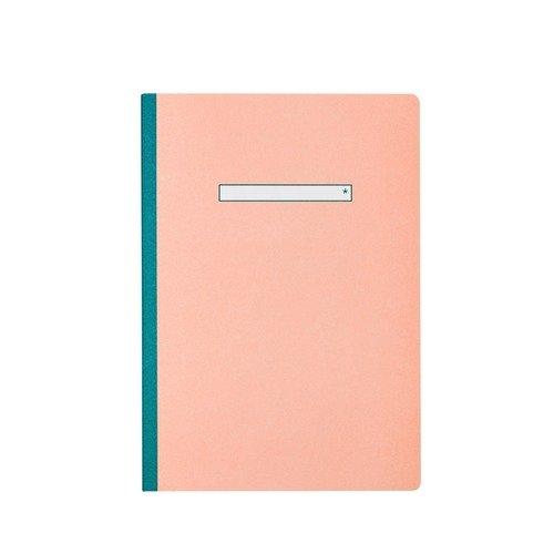 Тетрадь нелинованная В5, 40 листов, розовая