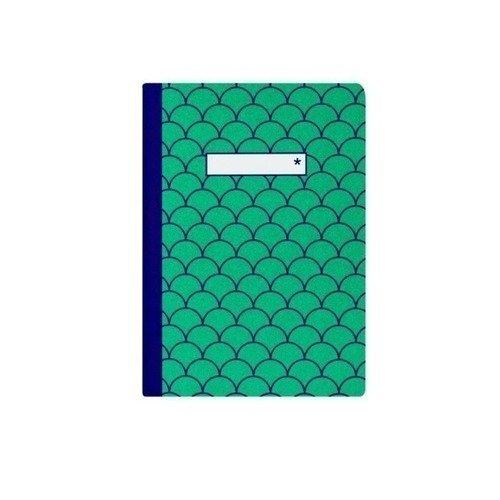 купить Блокнот нелинованный А6, 40 листов, зеленый онлайн