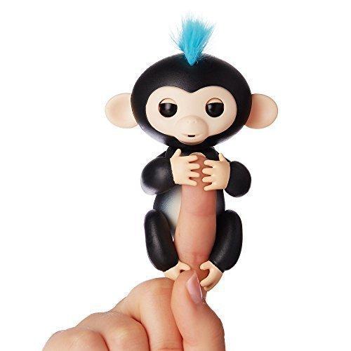 Купить Интерактивная обезьянка Финн , черная, WowWee, Интерактивные игрушки