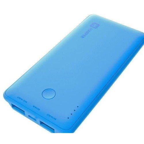 Внешний аккумулятор PB-6001, голубой, 6000 мАч harper pb 6001 оранжевый