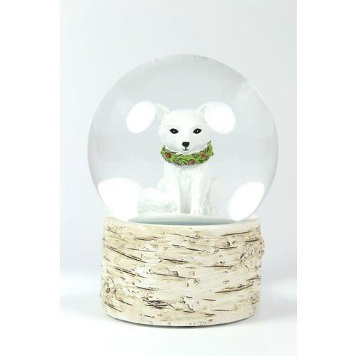 Снежный шар Лиса, 10 см цена