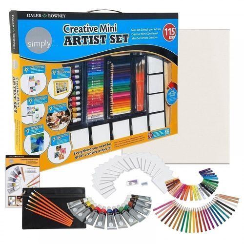 Фото - Художественный набор Creative Mini Arisst Set, 115 предметов lyra художественный набор graphite set 11 предметов