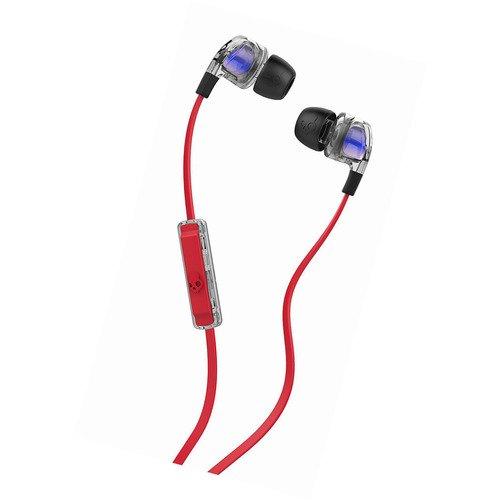 Наушники Smokin Bud 2 In-Ear W/Mic Spaced Out / Clear / Black наушники smokin bud 2 in ear w mic spaced out clear black