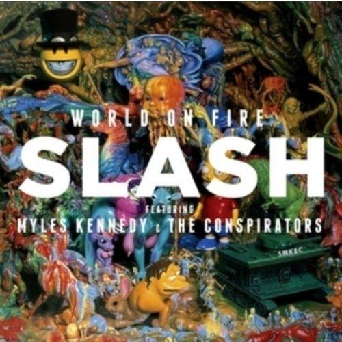 Виниловая пластинка Slash - World On Fire