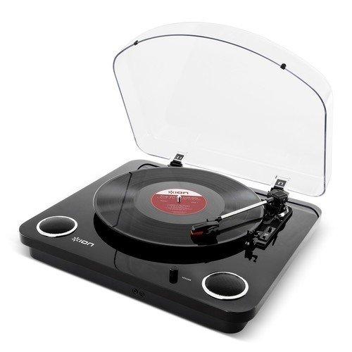 Виниловый проигрыватель Max LP, черный виниловый проигрыватель ion audio trio lp с радио
