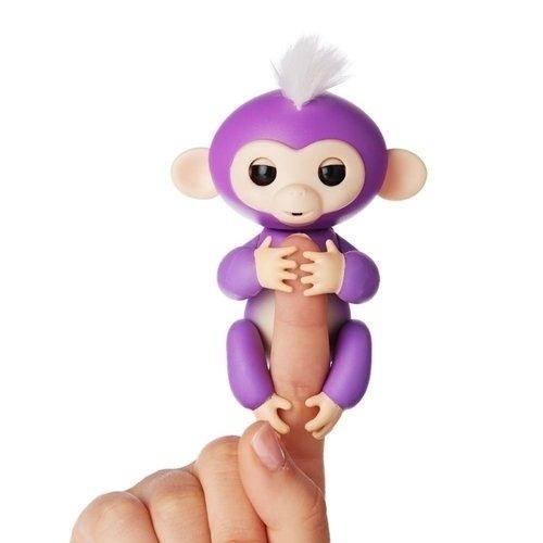 Купить Интерактивная обезьянка Миа , фиолетовая, WowWee, Интерактивные игрушки