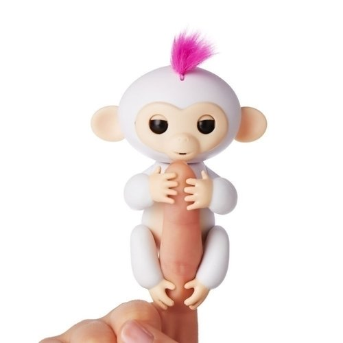 Купить Интерактивная обезьянка София , белая, WowWee, Интерактивные игрушки