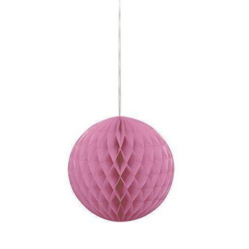 Шар на подвесе, розовый шар ветка 80мм стекло розовый