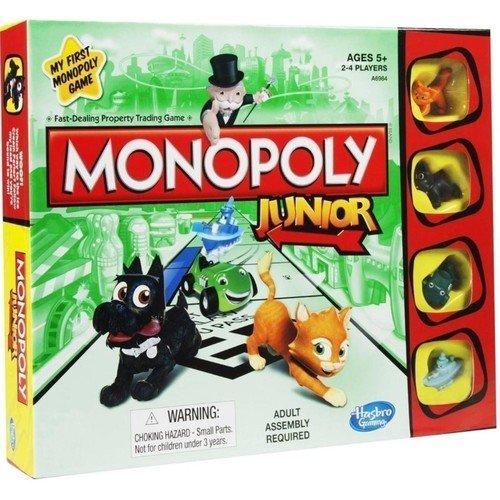 Игра Моя первая монополия настольная игра для вечеринки hasbro монополия моя первая игра a6984h