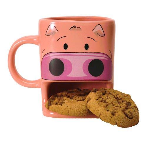 """цена на Кружка керамическая """"Cookie Cup - Pig"""", 250 мл"""