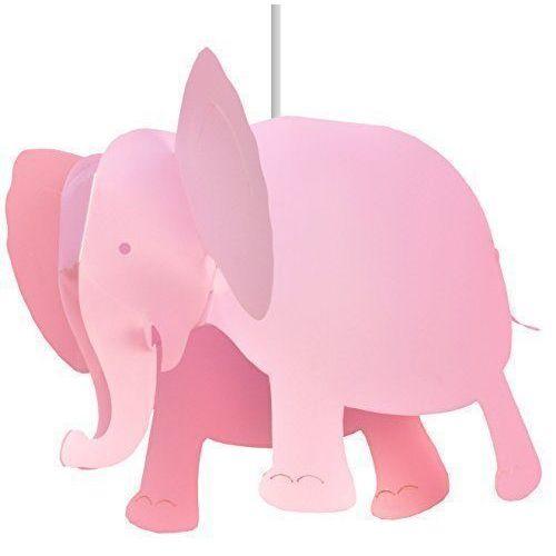 Светильник Слон, розовый настольный светильник risalux мечта e27 3218469 розовый 28 х 28 х 44 см
