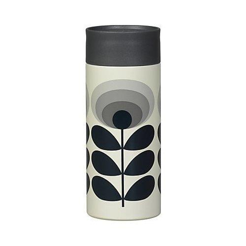 Термостакан металлический Flower Oval Multi, 350 мл elegant flower shaped rhinestone inlaid tin alloy brooch silver multi color