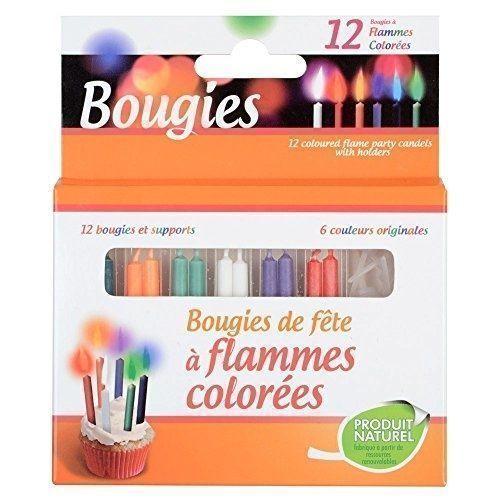 """цена Набор свечей для торта """"Bougies a flammes colorees"""" онлайн в 2017 году"""