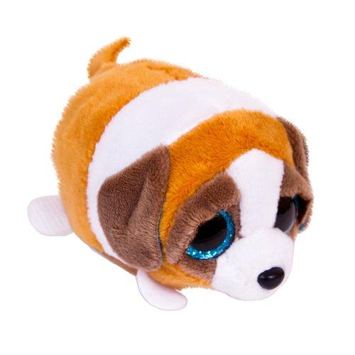 Собачка коричневая с белым