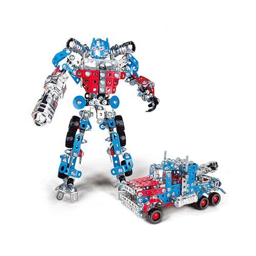 """Металлический конструктор """"Робот-трансформер"""""""