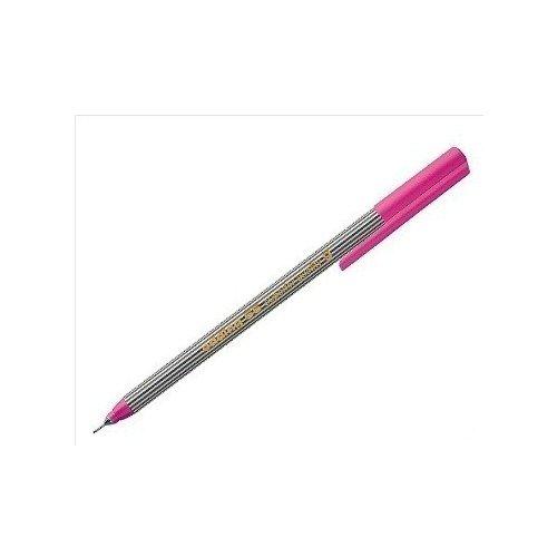 Ручка капиллярная Edding 55 Fineliner, 0,3 мм, розовая кисть ручка edding кисть ручка 10цв edding 1340 477764