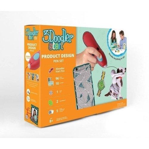 Подарочный набор Дизайнер. Ручка 2DOODLER START 3d ручка 3doodler start базовый набор e comm