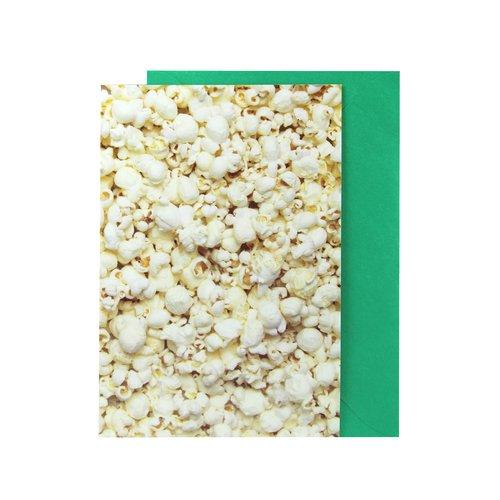 Открытка Попкорн открытка фигурная с конвертом мишка размер 14х20 см магнит