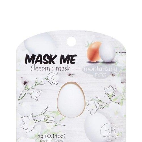 "Ночная маска для лица ""Beauty Me, Korea"", увлажняющая, яичная, 4 мл"