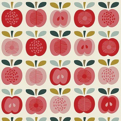 "Упаковочная бумага ""Vintage Apple"" недорого"
