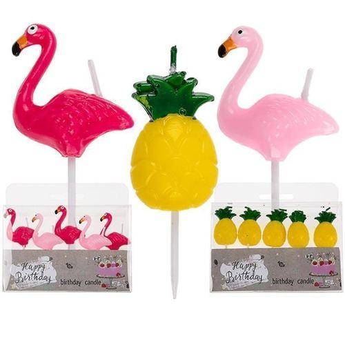 """Набор свечей """"Flamingo & pineapple"""""""