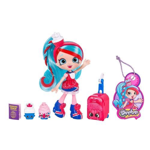 Кукла Shoppies Путешествие в Европу игра moose шопкинс шопис путешествие в европу 56804