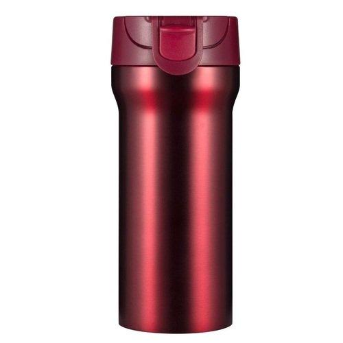 Термостакан On The Way, красный металлик, 350 мл термостакан woodsurf on the way цвет белый 500 мл