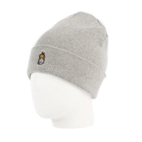 Шапка Печкин, серая шапка галчонок серая