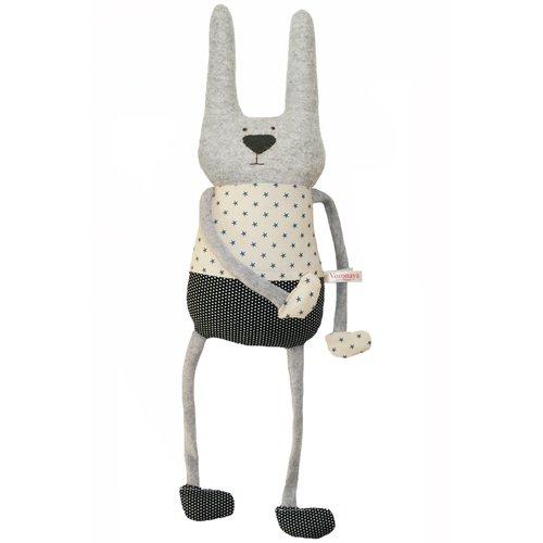 Купить Мягкая игрушка Заяц , 40 см, Voronaya, Мягкие игрушки