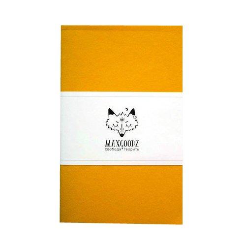 """Скетчбук """"Classic White"""" A5, 32 листа, 160 г/м2, желтый"""