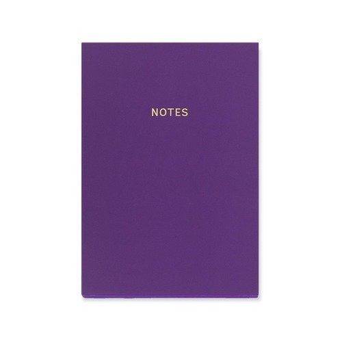 """Блокнот """"Цветной блок"""" А5, 80 листов, фиолетовый"""