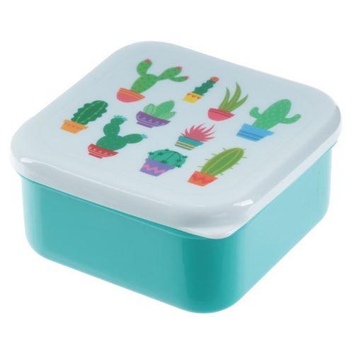 Набор пластмассовых ланчбоксов Cactus Snac-tus Pots
