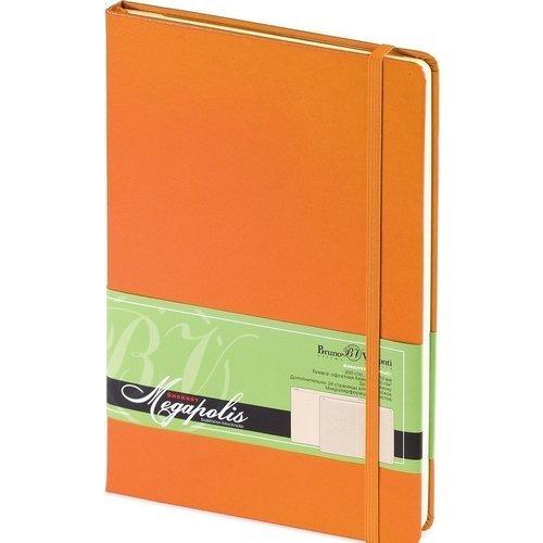 Блокнот MEGAPOLIS REPORTER А5 оранжевый цена