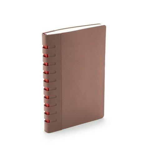 Ежедневник BERGAMO А5 коричневый