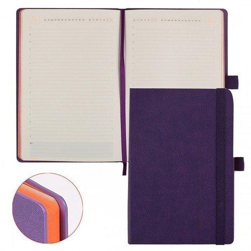 Ежедневник MONACO А5 фиолетовый ежедневник bruno visconti egapolis flex фиолетовый 272с ф а5 3 531 19