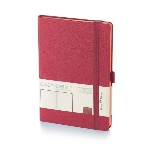 """Ежедневник на резинке """"Monaco"""" 3-518/13 А5, бордовый, 272 стр."""