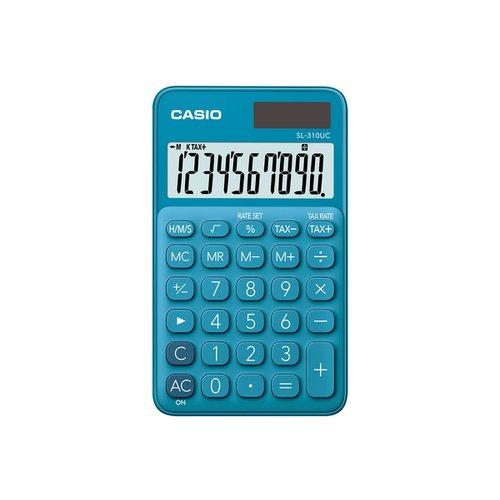 Калькулятор карманный Casio синий