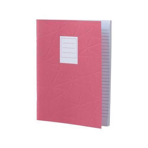 Тетрадь Pink Large Jotte, 40 листов, в линейку, 18 х 23 см