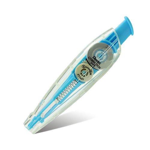 Корректирующая лента автоматическая Correction Tape, 5 мм х 6 м, голубая липкая лента bondage tape