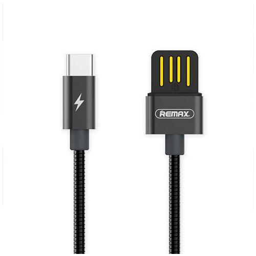 Фото - Кабель USB Silver Serpent RC-080a Type C, черный кабель
