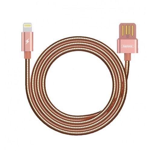 """Кабель USB """"Silver Serpent"""" RC-080i Lightning, розовое золото цена"""
