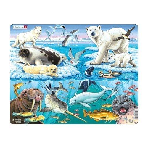 Купить Пазл Арктика , 75 элементов, Larsen, Пазлы