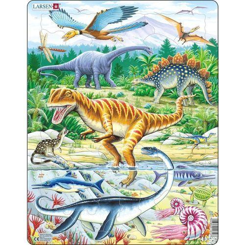 Пазл Динозавры, 35 элементов пазл умка времена года 40 элементов