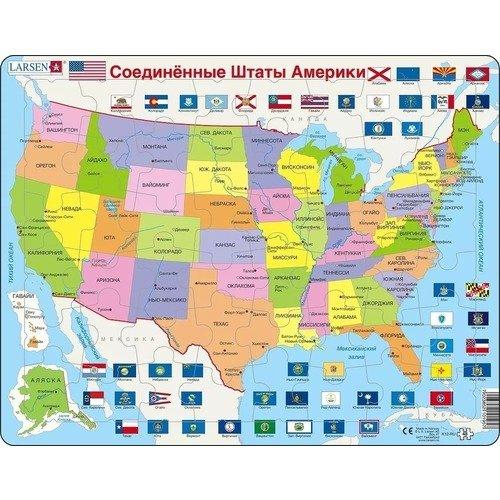 Пазл США, 48 элементов а г костеневич выставка картин из музеев соединенных штатов америки