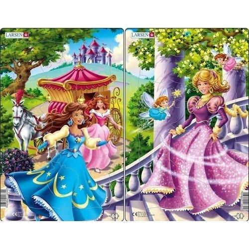 Купить Пазл Принцессы , 11 элементов, Larsen, Пазлы