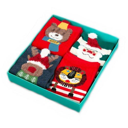 Набор носков It's Christmas, 36-39, 4 пары набор носков girlfriend 36 39 2 пары