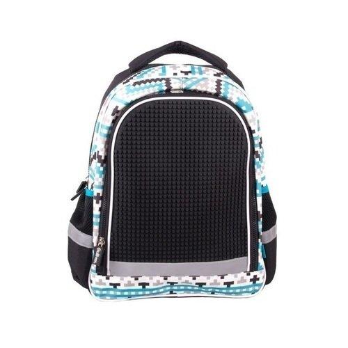 Школьный рюкзак с пикси-дотами, черный