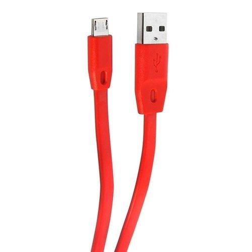 Кабель microUSB 160, красный remax 160 yellow кабель usb microusb