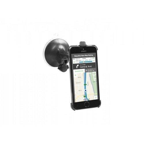 Автодержатель для iPhone 5 на стекло с жесткой штангой Freeway автодержатель